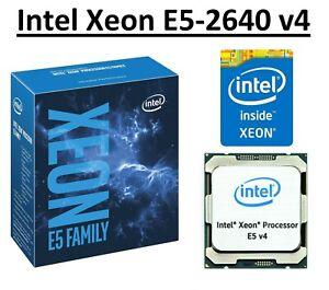 Intel Xeon E5-2640 v4 SR2NZ 2.4 - 3.4 GHz, 25MB, 10 Core, LGA2011-3, 90W CPU