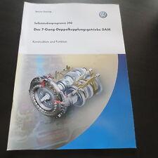VW SSP Nr. 390 Das 7-Gang-Doppelkupplungs-Getriebe 0AM Polo Golf Touran Passat