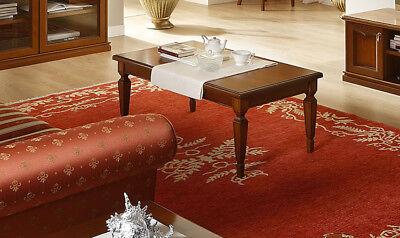 Couchtisch Wohnzimmer Tisch Beistelltisch Sofatisch Nussbaum Holzfurnier Italien