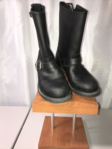 Frye Engineer 12R Black Womens Boot Size 9M