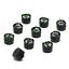 10pcs Passive Electric Buzzer 3V 5V 12V 16ohms 2KHz for Audio Signal Application