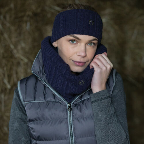 Equetech Cable Knit Snood Scarf RRP £16.50 Face Cover Three colours