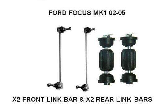 FORD FOCUS MK1 FRONT /& REAR ANTI ROLL BAR STABILISER DROP LINK X2 98-04