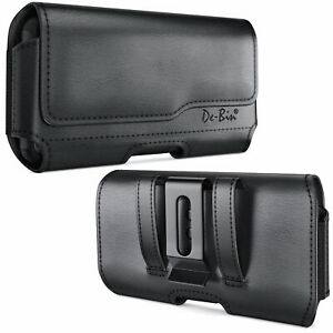 iPhone-X-XS-11-Pro-Phone-Holster-w-Belt-Clip-Black-Phone-Pouch-Carrying-Case