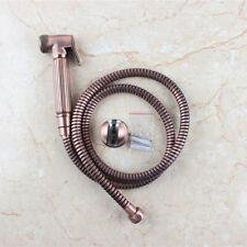 Brass bronze plating hand held shattaf bidet spray with hose and holder