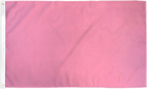 """PINK 3X5/' FLAG NEW SOLID COLOR 36X60/"""""""