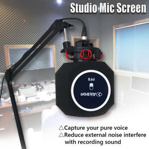 Hospitalier Studio Microphone Screen Acoustic Filter Recording Microphone Soundproof Sponges Rendre Les Choses Commodes Pour Le Peuple