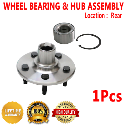 2007 2008 For Ford Explorer Sport Trac Front Wheel Bearing and Hub Assembly x2