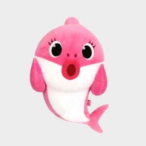 Pinkfong baby shark sound doll mom 1 song 3000 plays polyester image is loading pinkfong baby shark sound doll mom 1 song stopboris Choice Image