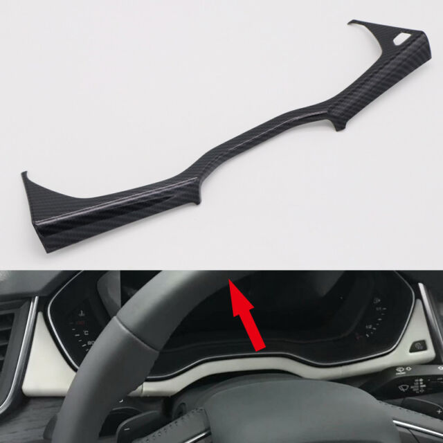 ABS Carbon Console Dashboard Stripe Cover 1pcs For Audi Q5
