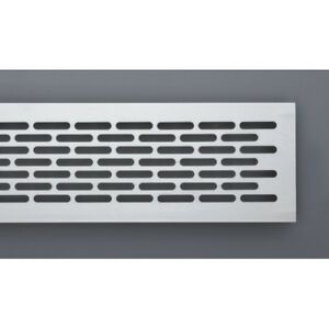 Details about Aluminium Air Vent Grill - Kitchen / Plinth / Worktop /  Ventilation Cover