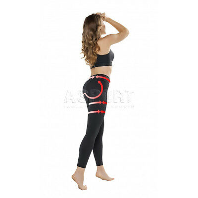 Donna Pantalone Fitness Push Up Sport Pantaloni Leggings Legging Gwinner-