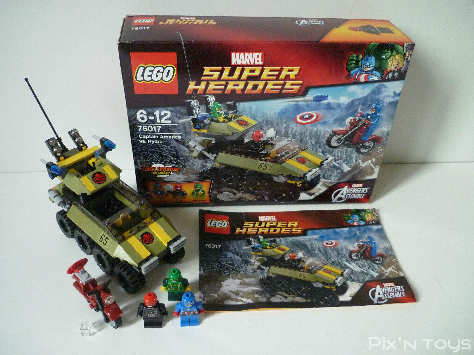 LEGO Super Héros Marvel Avengers Assemble 76017 Captain America vs Hydra