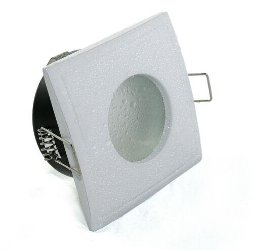 Dusche 5W = 50W COB Power LED Downlights 230V für Bad Feuchtraum eckig IP65