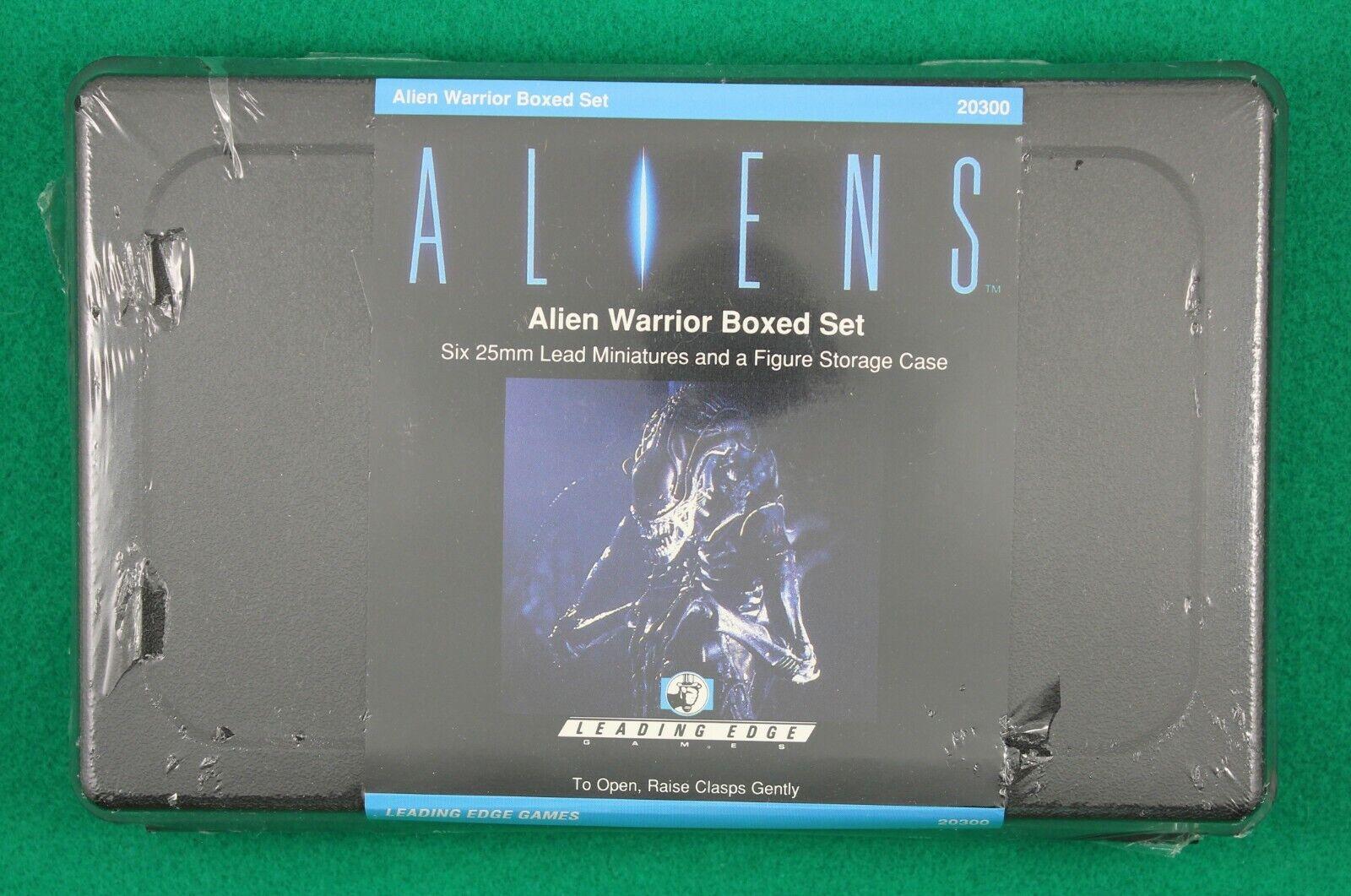 Leading Edge ALIEN WARRIOR Aliens Boxed Set  1 6 25mm Figures Factory Sealed