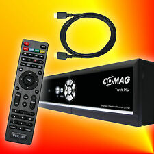 COMAG TWIN HD 1000 GB Festplatten Sat Receiver Twin-Tuner HDTV TimeShift USB