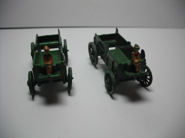 Early 1950's Matchbox Covered Wagon Horse Team; REPLACEMENT WAGON CHOOSE 0NE