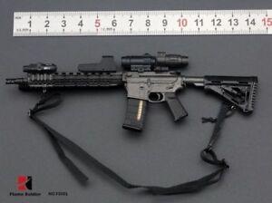 FlameSoldier FS001 1//6 Gun M4 Model Rifle Full Set Weapon Model Fit 12/'/' Figure