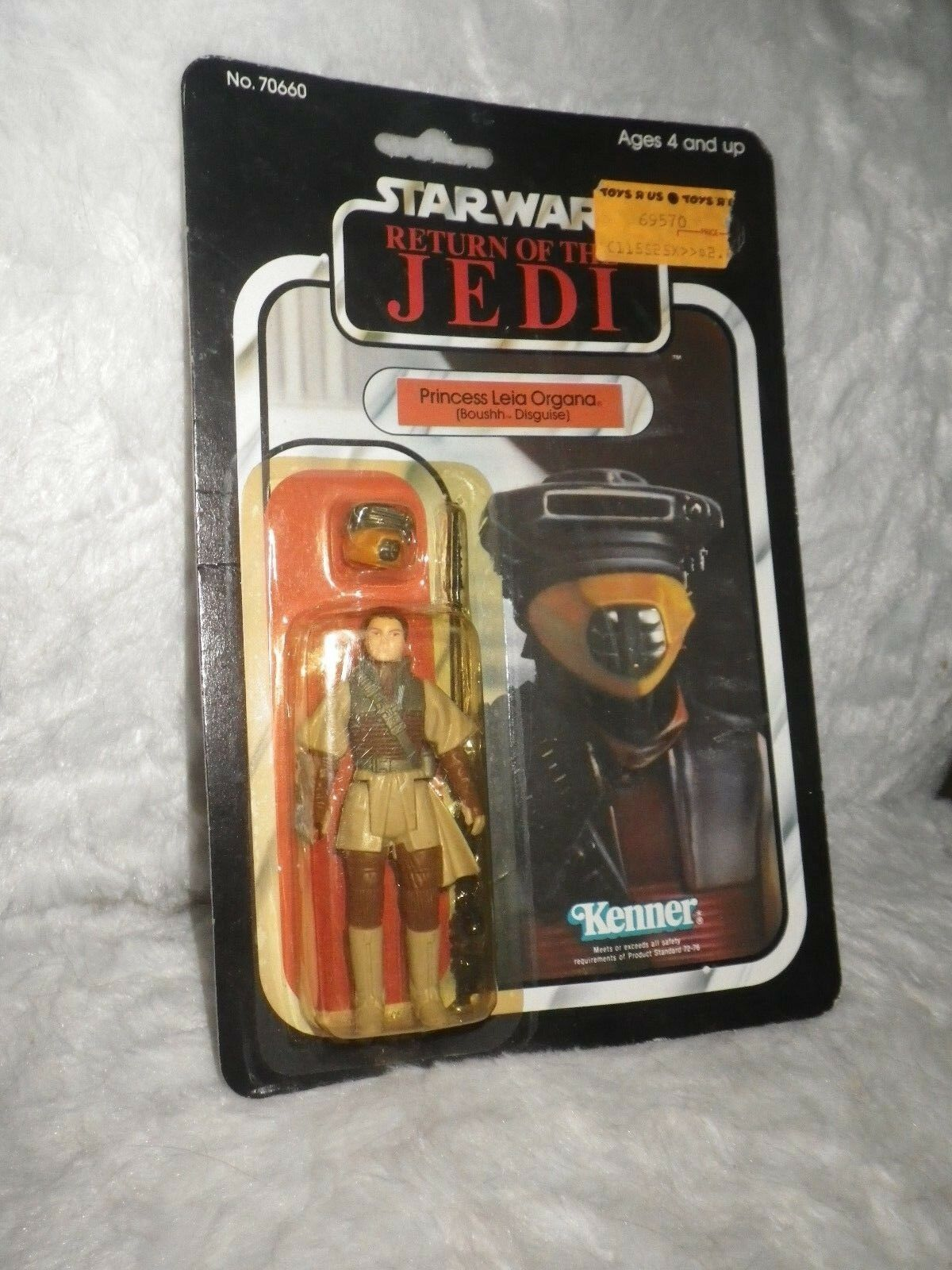 NEW Star Wars THE RETURN OF THE THE THE JEDI PRINCESS LEIA ORGANA BOUSSH DISGUISE 77 6cb080