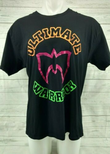 WWF Ultimate Warrior Legends WWF Men's T-Shirt Siz