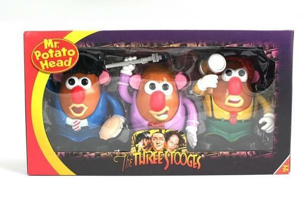 THREE STOOGES MR POTATO HEAD COLLECTORS Verpackung BOXED SET