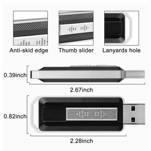 3 PCS USB 3.0 Flash Drives 32GB Memory Sticks Thumb Pen Jump Drives Retractable