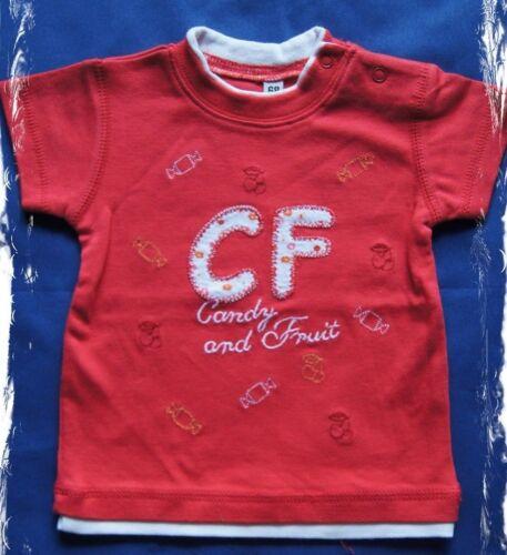 """E12 86//92 *NEU* Süßes T-Shirt rot Mädchen /""""Candy and Fruit/"""" GIRL Gr"""