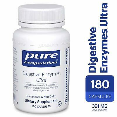 Pure Encapsulations - Digestive Enzymes Ultra 180 Capsules | eBay