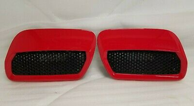 New Take Off 2018 2019 Ford Mustang GT Hood Heat Extractor Race Red