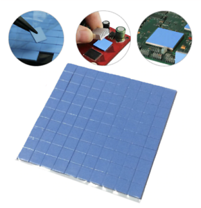 CPU Heatsink 100 pcs10mmx10mmx1mm GPU Cooling Thermal Conductive Silicone Pad