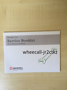 Vauxhall-Service-Book-brand-new-unused-covers-all-models-petrol-and-diesel-ASTRA