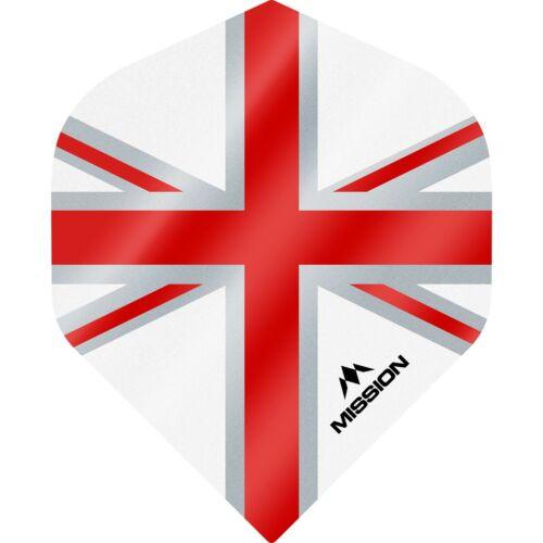 Mission Alliance Flights Union Jack Red//White Size No2-100 micron