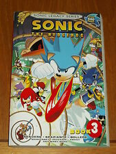 SONIC THE HEDGEHOG BOOK 3 SONIC LEGACY SERIES ARCHIE COMICS < 9781936975754