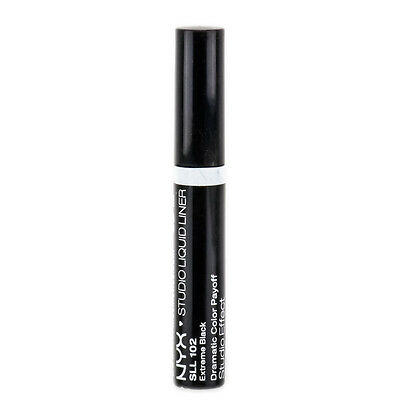 NYX Studio Liquid Liner color SLL102 Extreme Black Brand New
