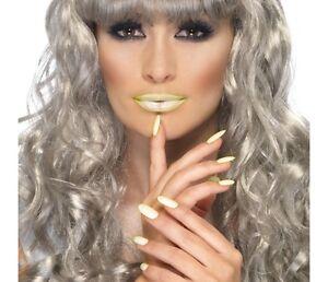 Lipstick and Nail Polish Set Adult Womens Smiffys Fancy Dress Costume Accessory