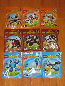 LEGO-MIXELS-Series-2-CARTOON-NETWORK-COMPLETE-SET-OF-9-PACKS-NEW