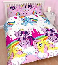 My Little Pony Equestria Double Duvet Quilt Cover Set Kids Bedding ...