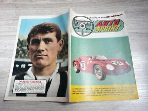 2019 Nouveau Style Auto Sprint 1962 N.863 Ferrari 268/sp. Dante Crippa. Anton Geesink. Giulia 1600