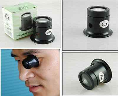 3x 5x 8x 10x Watch Magnifier Jeweler Loupe Magnifing Eye Len Repair Kit Tools