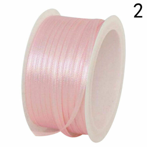 50m*0.3mm Colorful Satin Ribbon Wedding Party Deco Christmas Uylj Apparel W Best