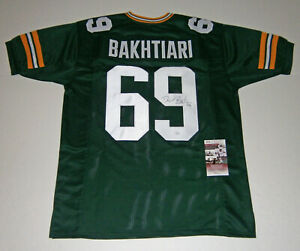 PACKERS-David-Bakhtiari-signed-custom-green-jersey-w-69-JSA-COA-AUTO-Autograph