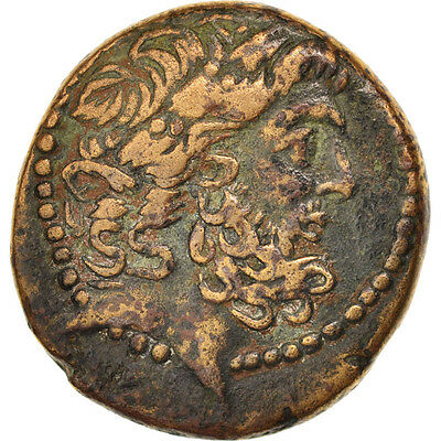 #404941 Seleucid And Pierie Bronze Ef Antioch 40-45 Bronze Lovely Luster
