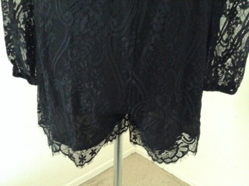Ricamato Nwt Wayf button small Ls gorgeous Lace Keyhole Romper black Back ar5xqrZfw