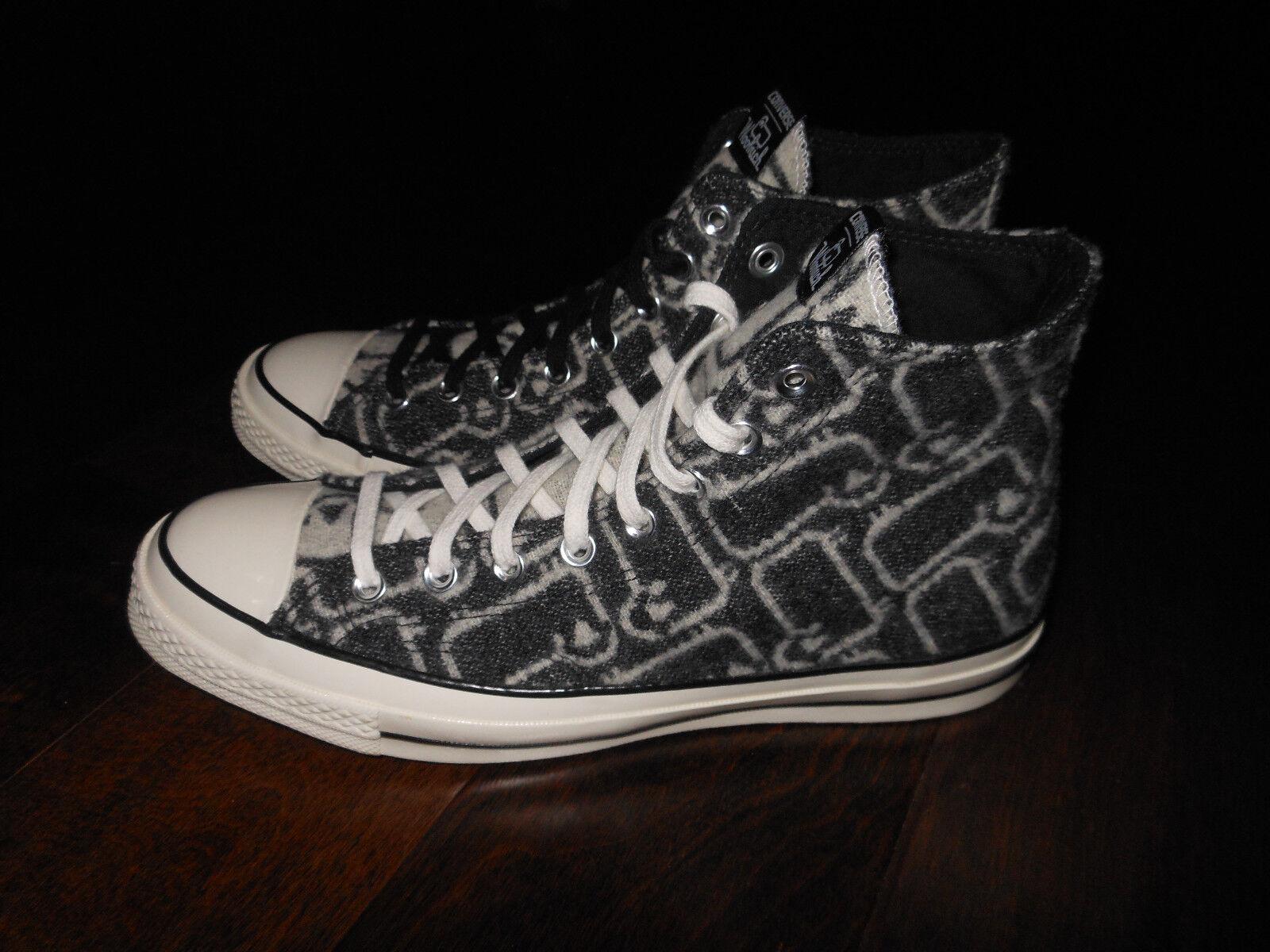 CONVERSE CT 70 HI 150161C Woolrich Edition Shoes Size 6 US 39 EUR Blk/White