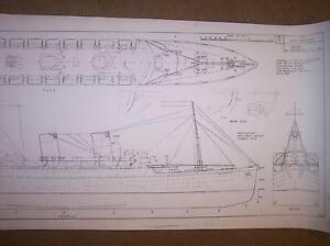 RMS MAURETANIA ships plan