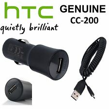 HTC In Car Charger CC C200 For ONE M7 M8 Mini Mini2 Max V S X Desire 500 510 610