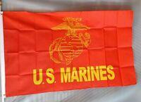 Marines 3x5' Big Flag 3'x5' Marine Corp Usmc 36x60