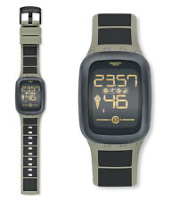 Swatch Earthzero Touch Zero One Uhr SUVT100 Digital Bluetooth,Chronograph,Stoppu