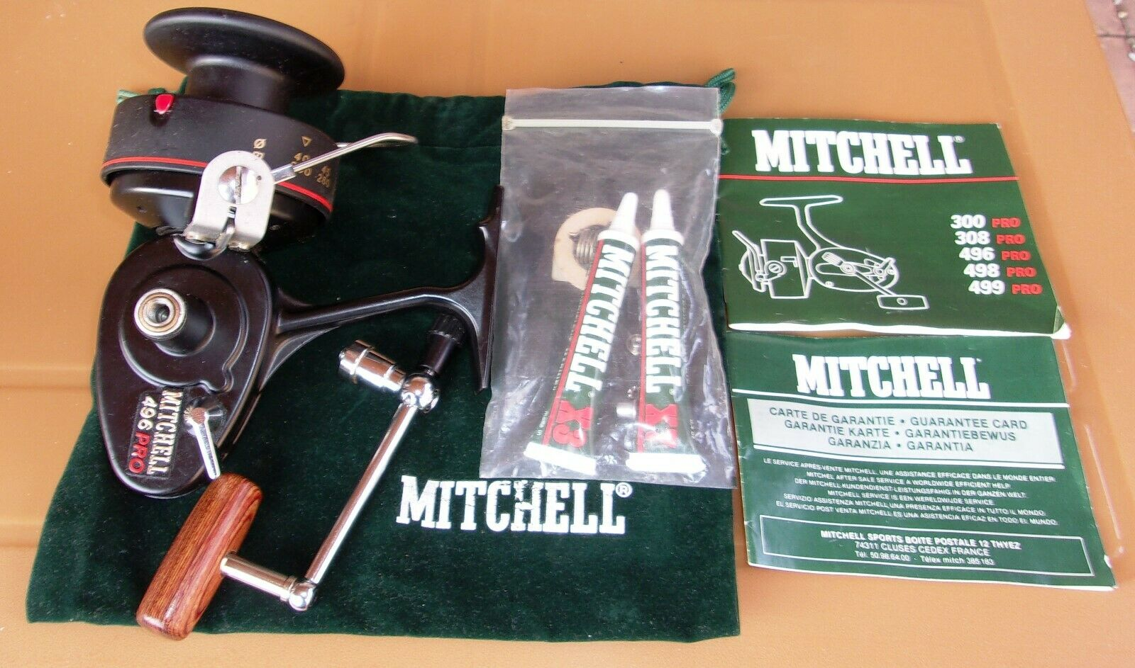Mitchell 496 Pro en Caja Nuevo