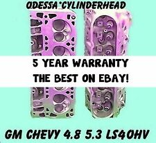 GM CHEVY 4.8 5.3 OHV LS4 SILVERADO TAHOE EXPRESS CYLINDER HEADS 99-05 REBUILT